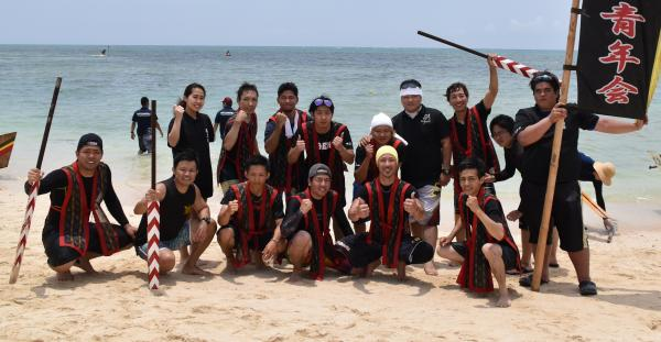 Hot fight that is developed at the Uza shore! The 34th Yomitan Village Harley meeting